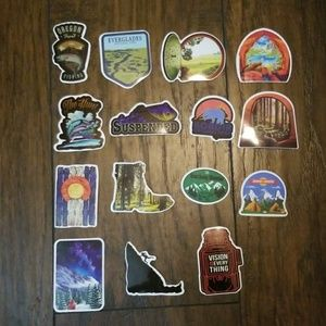 Outdoor sticker pack